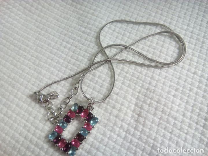 Joyeria: Precioso colgante cristal Swarovski con cadena de 56cm. Sin estrenar. - Foto 7 - 212404690