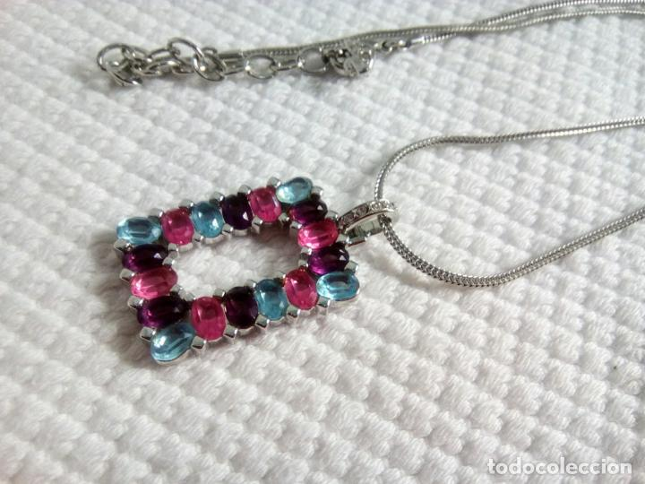 Joyeria: Precioso colgante cristal Swarovski con cadena de 56cm. Sin estrenar. - Foto 8 - 212404690