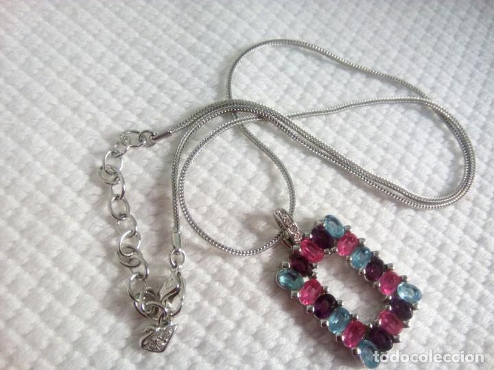 Joyeria: Precioso colgante cristal Swarovski con cadena de 56cm. Sin estrenar. - Foto 9 - 212404690