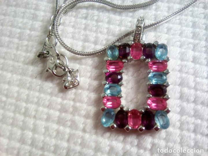 Joyeria: Precioso colgante cristal Swarovski con cadena de 56cm. Sin estrenar. - Foto 12 - 212404690