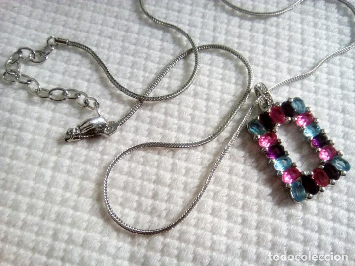 Joyeria: Precioso colgante cristal Swarovski con cadena de 56cm. Sin estrenar. - Foto 14 - 212404690