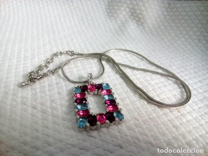 Joyeria: Precioso colgante cristal Swarovski con cadena de 56cm. Sin estrenar. - Foto 16 - 212404690