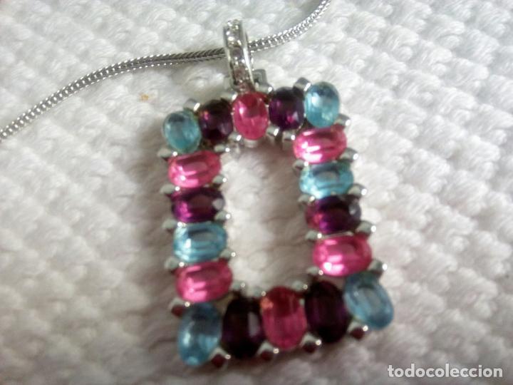 Joyeria: Precioso colgante cristal Swarovski con cadena de 56cm. Sin estrenar. - Foto 21 - 212404690