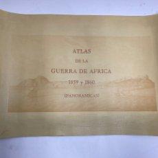 Joyeria: ATLAS DE LA GUERRA DE AFRICA, PANORAMICAS. 1859-1860. 1985.. Lote 212610521