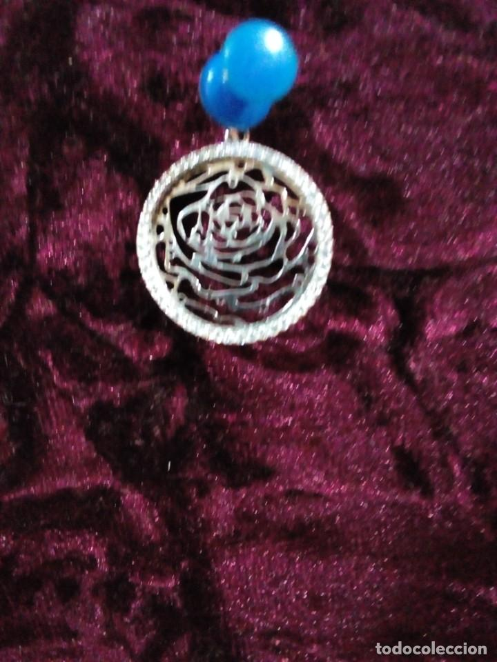 Joyeria: colgante en forma de rosa - Foto 2 - 212874833