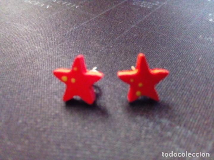 Joyeria: pendientes estrellas - Foto 2 - 212906045