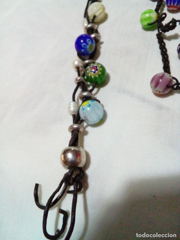 Joyeria: dos bonitas pulseras con bolitas de cristales - Foto 2 - 212908856