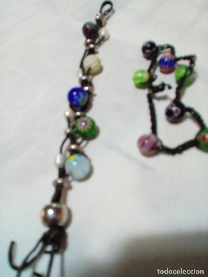 Joyeria: dos bonitas pulseras con bolitas de cristales - Foto 4 - 212908856