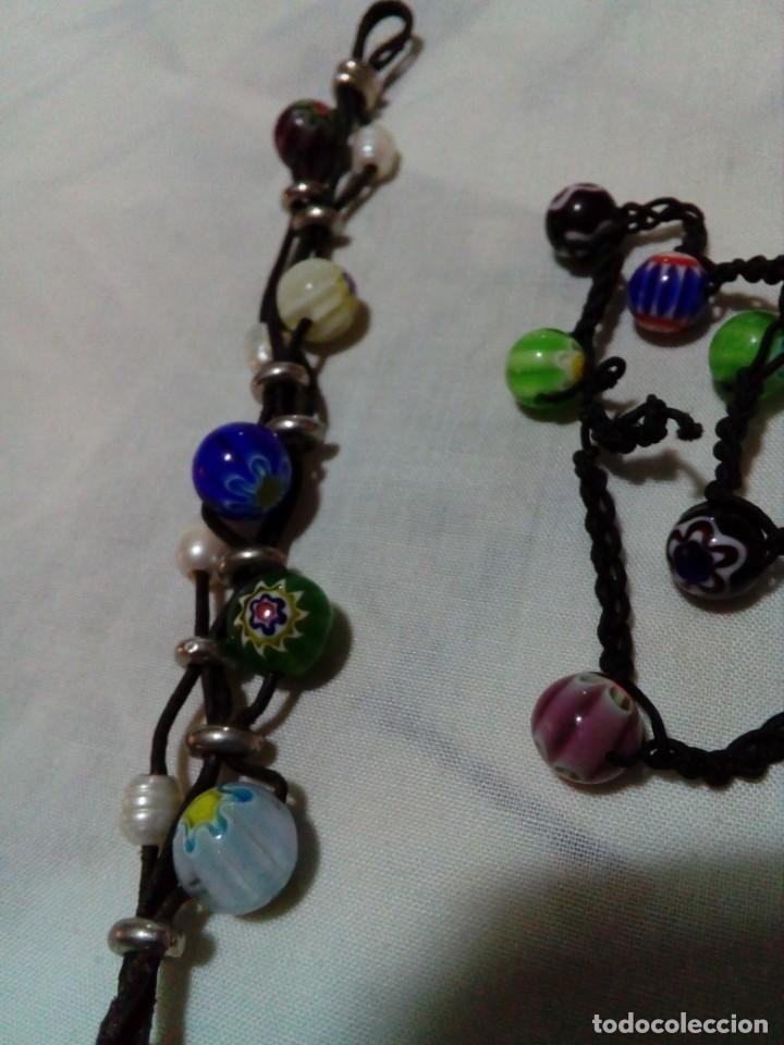 Joyeria: dos bonitas pulseras con bolitas de cristales - Foto 5 - 212908856