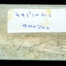 Joyeria: LINGOTE DE PLATA DE 900 MILESIMAS. 491,10 GRAMOS. FUNDIDO DE JOYERIA.. Lote 213261563