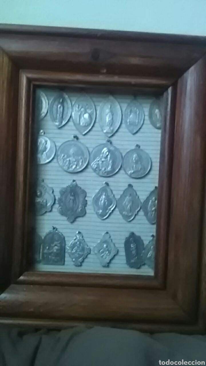 Joyeria: Precioso marco con medallas grandes de aluminio, - Foto 5 - 213473667