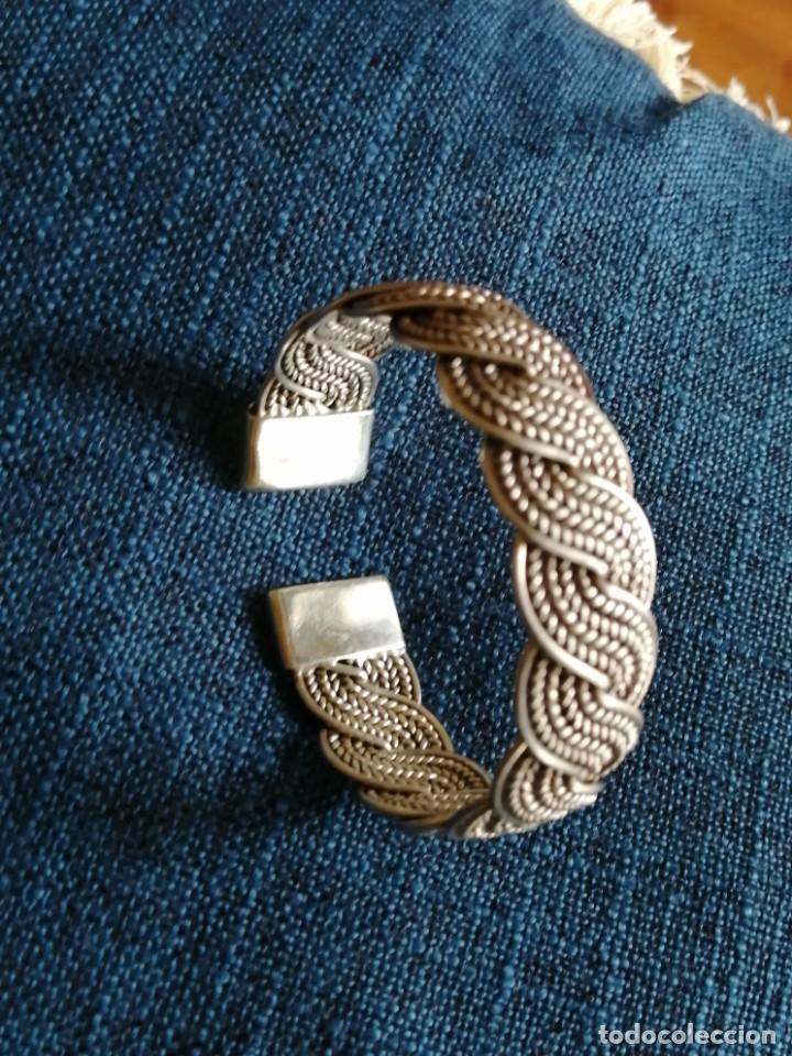Joyeria: Pulsera esclava de plata trenzada 40 gr - Foto 4 - 214195152