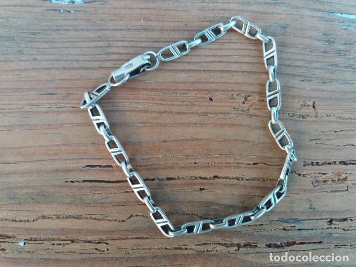 Joyeria: Pulsera plata niña antigua - Foto 2 - 214856210