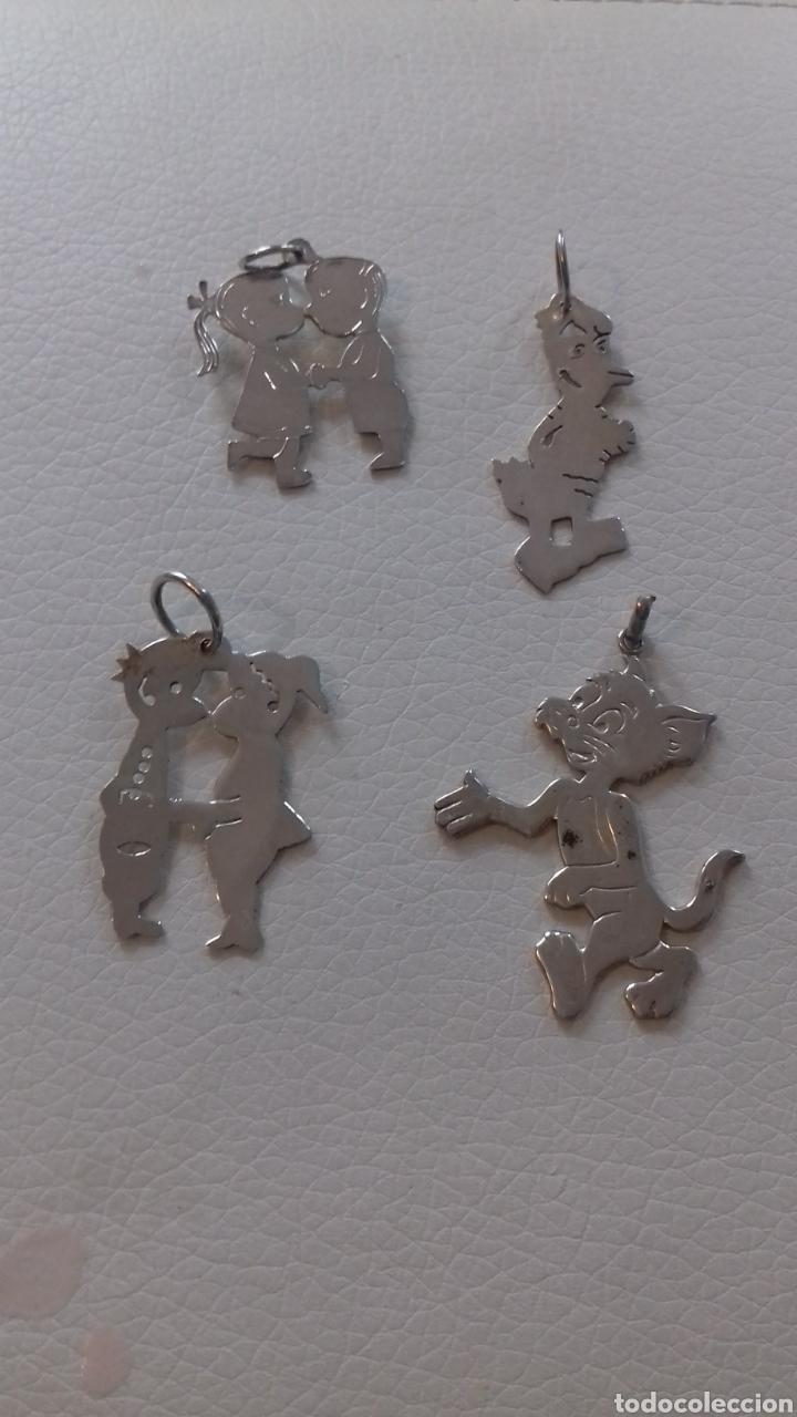 Joyeria: Colgante plata, personajes dibujos - Foto 4 - 216451078