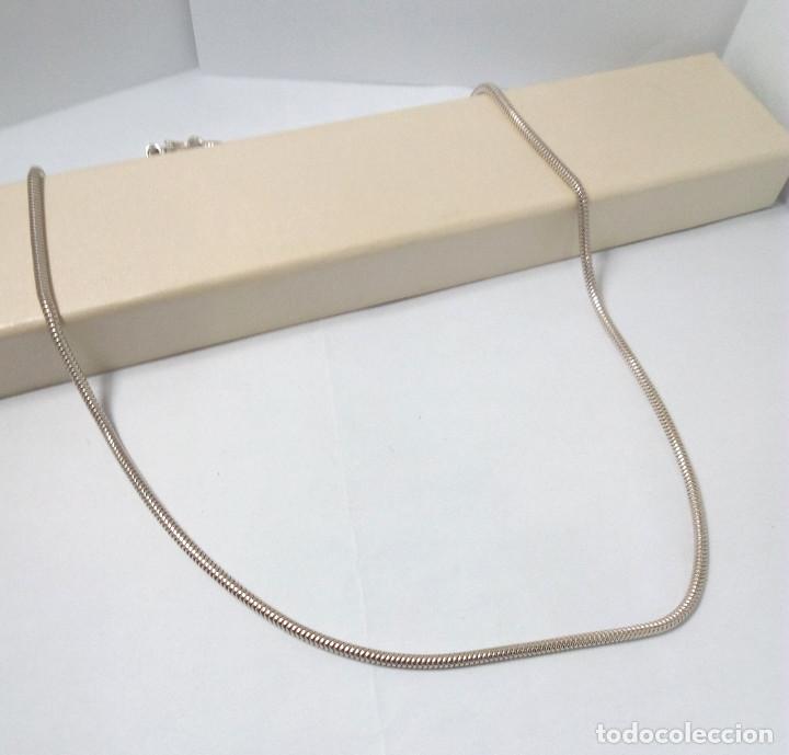 Joyeria: CADENA - CORDÓN DE PLATA DE LEY - MEDIDA 56 cm - GROSOR 2 mm - PESO 13.50 gr. - Foto 2 - 216864876