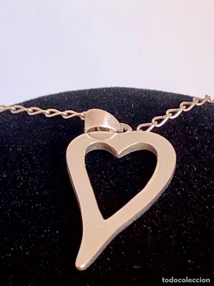 Joyeria: Colgante con corazón de Nácar de plata de ley 925 - Foto 4 - 217443771