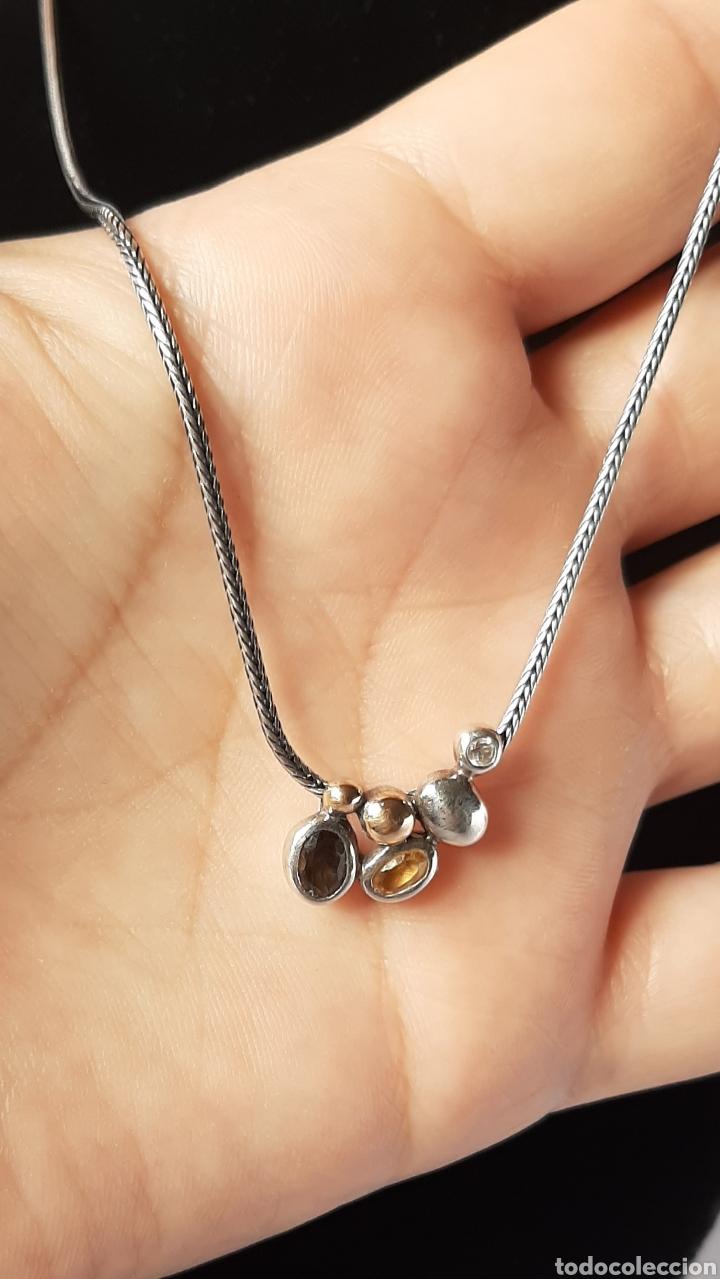 Joyeria: Collar + colgate de plata RAUFF 925 S Y colgante de amatista turmalina y circonita . - Foto 17 - 202721871