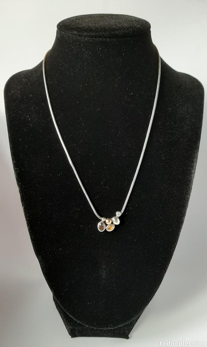 Joyeria: Collar + colgate de plata RAUFF 925 S Y colgante de amatista turmalina y circonita . - Foto 18 - 202721871