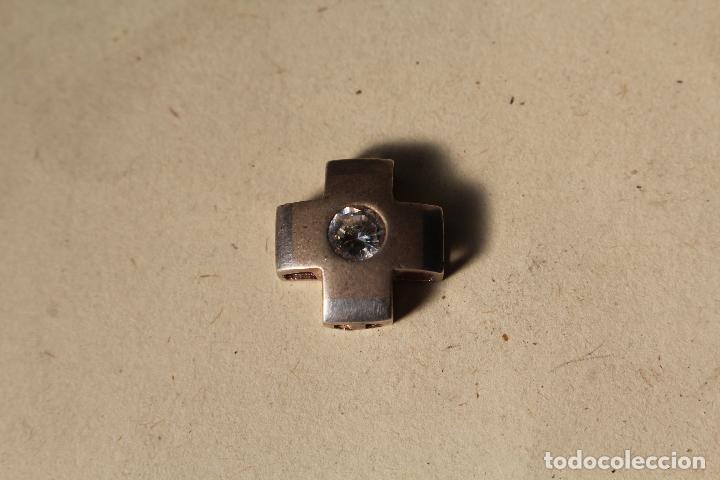 Joyeria: colgante cruz en plata de ley con brillante - Foto 2 - 218137506