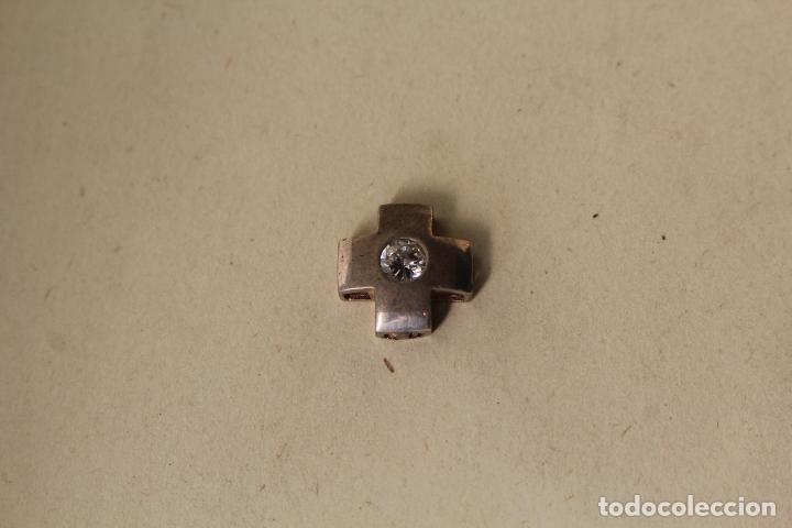 Joyeria: colgante cruz en plata de ley con brillante - Foto 6 - 218137506