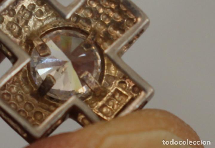Joyeria: colgante cruz en plata de ley con brillante - Foto 7 - 218137506