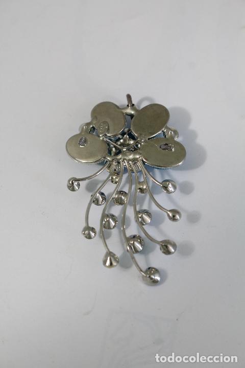 Joyeria: colgante en plata de ley con cristales azules - Foto 3 - 218139313