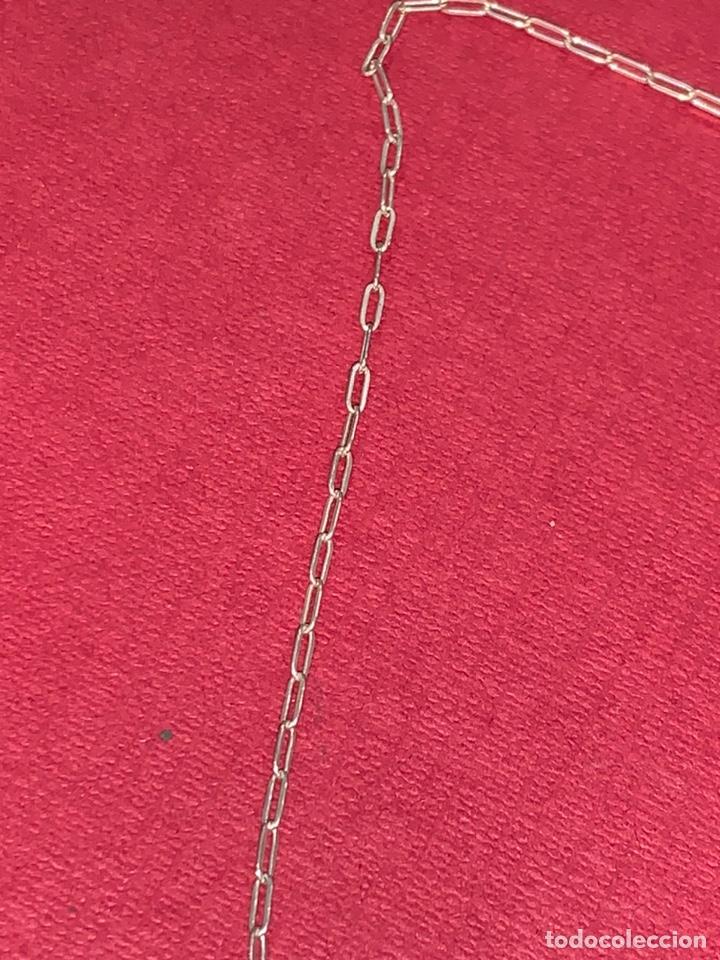 Joyeria: Bonito conjunto de cadena y colgante en plata de Ley. Plata contrastada - Foto 6 - 218198078