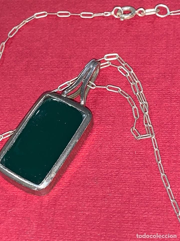 Joyeria: Bonito conjunto de cadena y colgante en plata de Ley. Plata contrastada - Foto 7 - 218198078