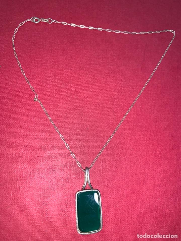 Joyeria: Bonito conjunto de cadena y colgante en plata de Ley. Plata contrastada - Foto 8 - 218198078