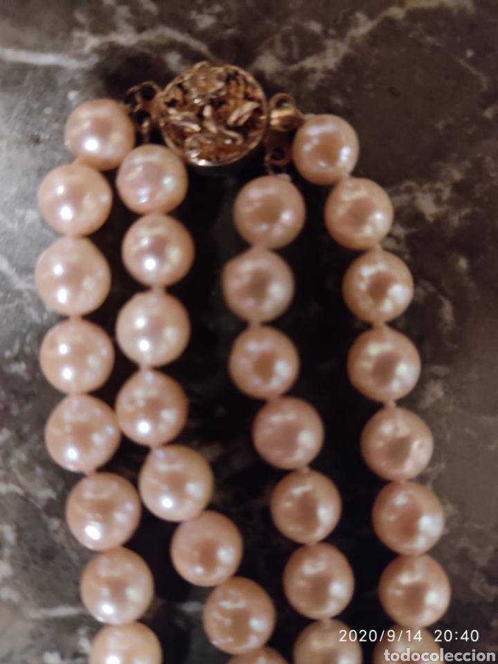 Joyeria: Collar de perlas cultivadas y cierre de plata (Dispongo de mas collares por si le interesara ) - Foto 5 - 91377497