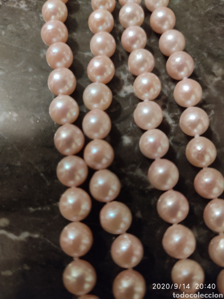 Joyeria: Collar de perlas cultivadas y cierre de plata (Dispongo de mas collares por si le interesara ) - Foto 6 - 91377497