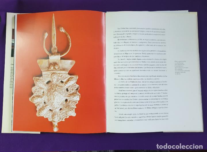 Joyeria: PAREJA DE FIBULAS. BROCHE DE PLATA SIGLO XIX. JOYAS DEL RIFF. MELILLA Y MARRUECOS. ORIGINALES. - Foto 7 - 219468728