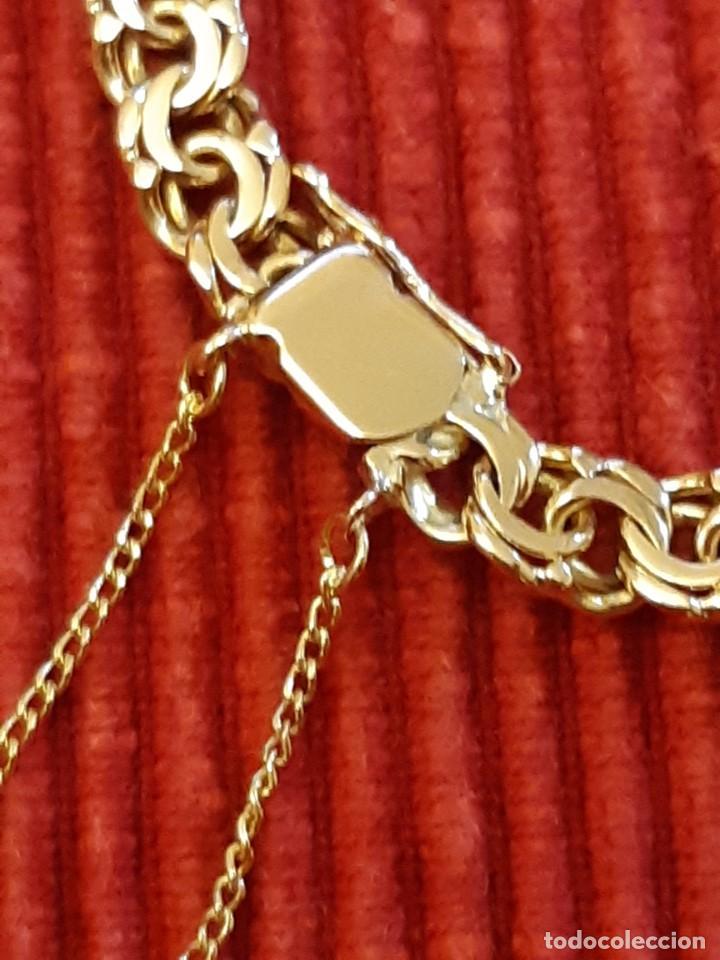 Joyeria: Antigua pulsera con moneda - Foto 3 - 219534678