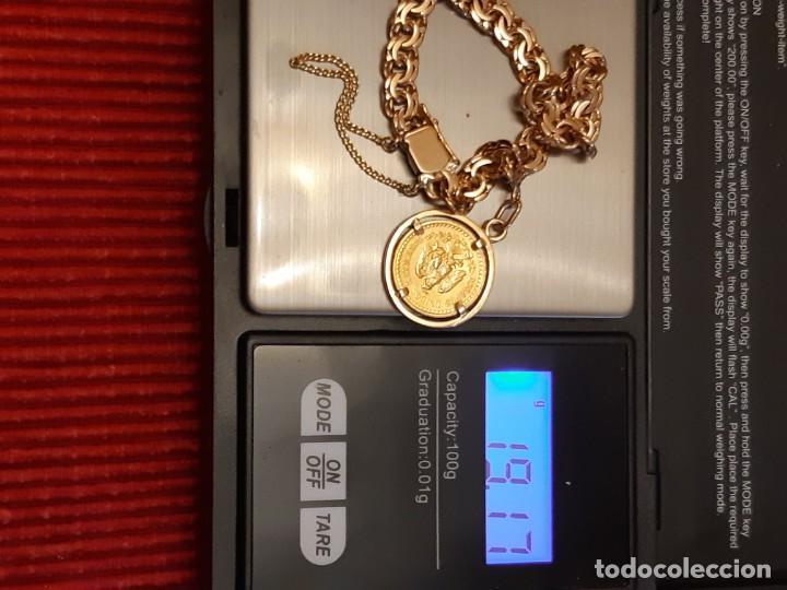 Joyeria: Antigua pulsera con moneda - Foto 12 - 219534678