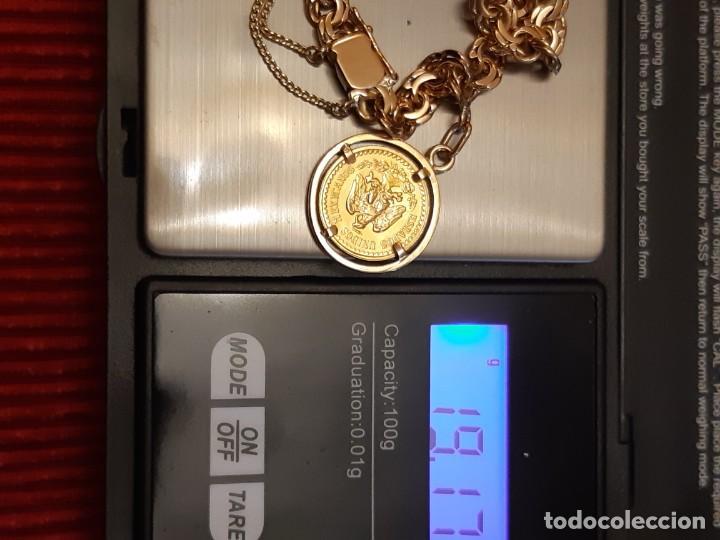 Joyeria: Antigua pulsera con moneda - Foto 13 - 219534678