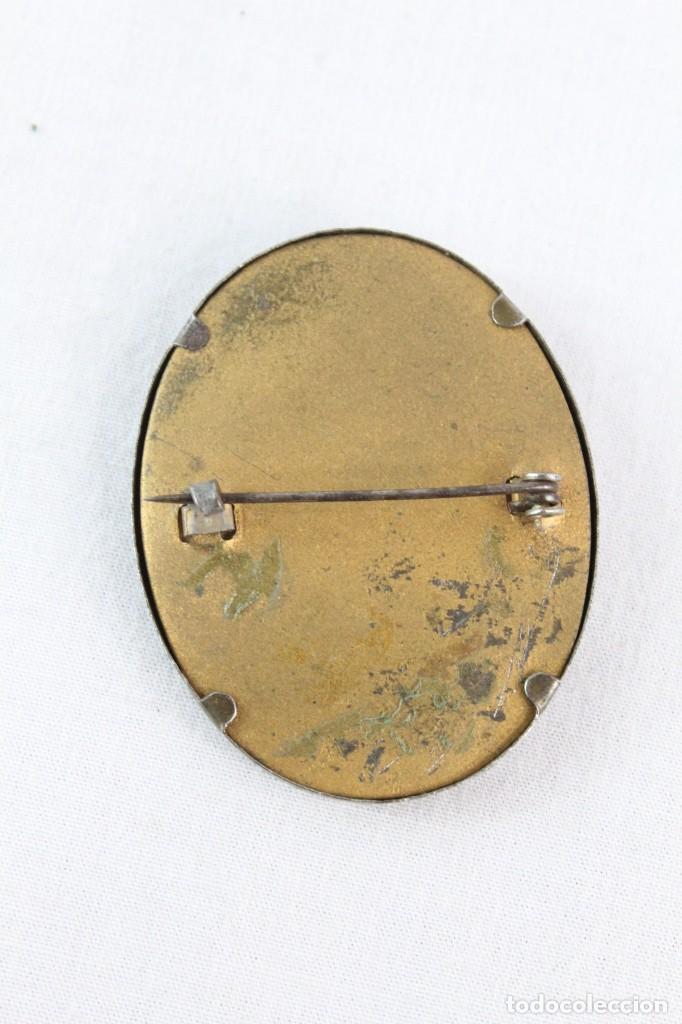 Joyeria: Broche con camafeo tallado en azabache S XIX - 45x35mm - Foto 3 - 220885657