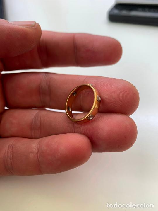 Joyeria: anillo cartier oro 18 k y brillantes - Foto 3 - 221113923
