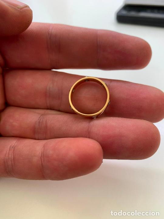Joyeria: anillo cartier oro 18 k y brillantes - Foto 6 - 221113923