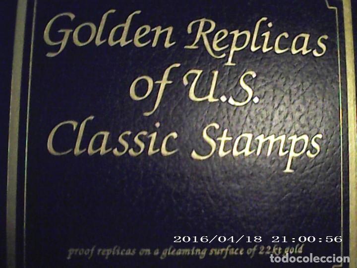 Joyeria: Única en T.Colección 100 SELLOS de oro 22 kilates colección completa de 18847 a 1932 USA - Foto 5 - 221436296