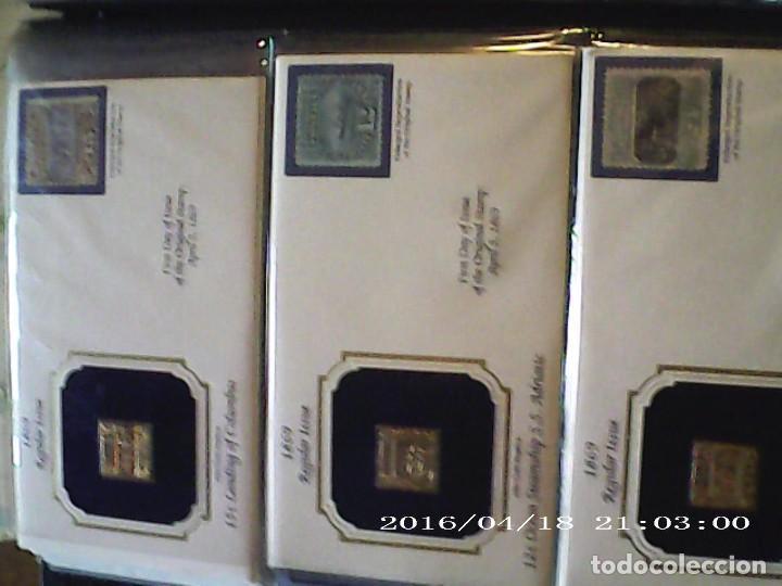 Joyeria: Única en T.Colección 100 SELLOS de oro 22 kilates colección completa de 18847 a 1932 USA - Foto 14 - 221436296