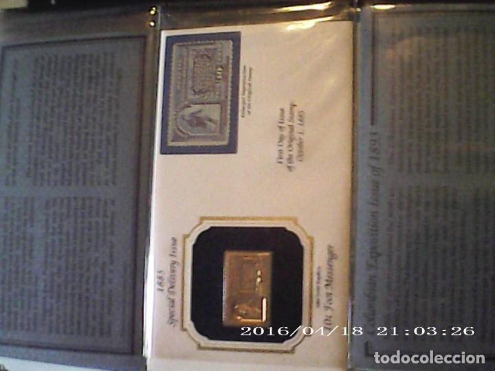 Joyeria: Única en T.Colección 100 SELLOS de oro 22 kilates colección completa de 18847 a 1932 USA - Foto 18 - 221436296