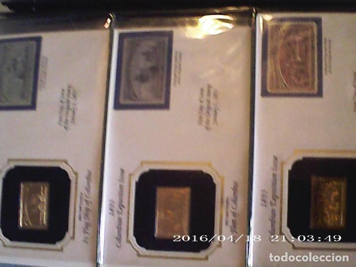 Joyeria: Única en T.Colección 100 SELLOS de oro 22 kilates colección completa de 18847 a 1932 USA - Foto 20 - 221436296