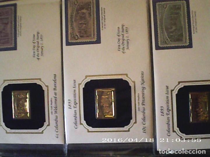 Joyeria: Única en T.Colección 100 SELLOS de oro 22 kilates colección completa de 18847 a 1932 USA - Foto 21 - 221436296