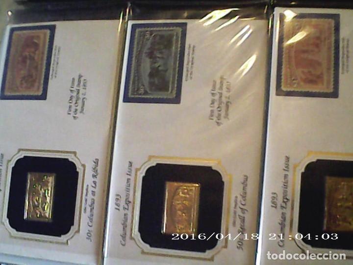 Joyeria: Única en T.Colección 100 SELLOS de oro 22 kilates colección completa de 18847 a 1932 USA - Foto 22 - 221436296
