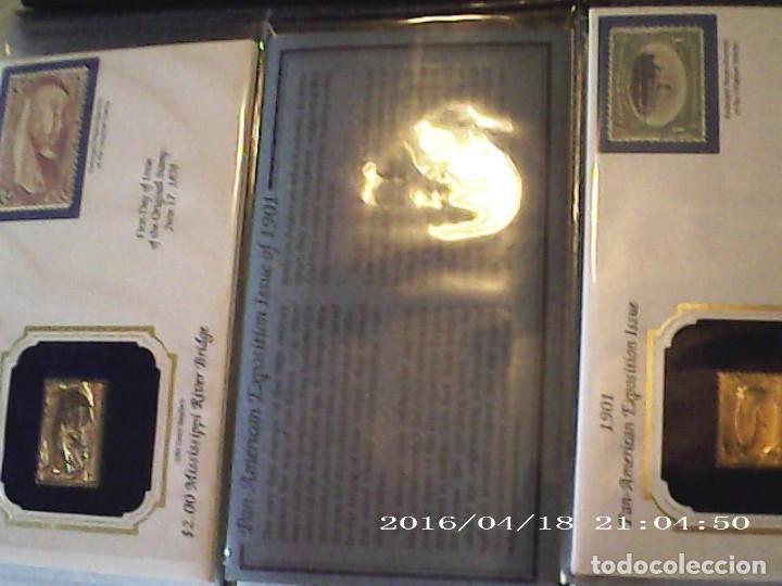 Joyeria: Única en T.Colección 100 SELLOS de oro 22 kilates colección completa de 18847 a 1932 USA - Foto 28 - 221436296