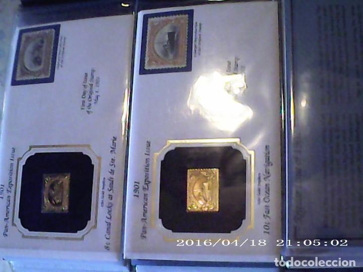 Joyeria: Única en T.Colección 100 SELLOS de oro 22 kilates colección completa de 18847 a 1932 USA - Foto 30 - 221436296