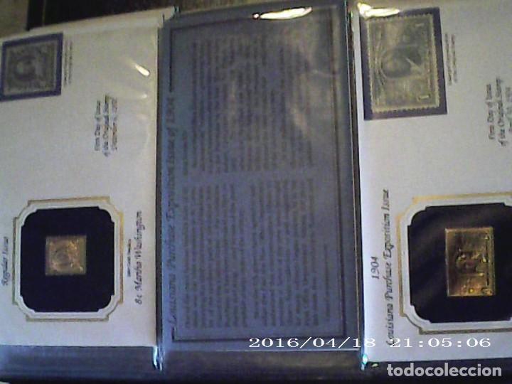 Joyeria: Única en T.Colección 100 SELLOS de oro 22 kilates colección completa de 18847 a 1932 USA - Foto 31 - 221436296