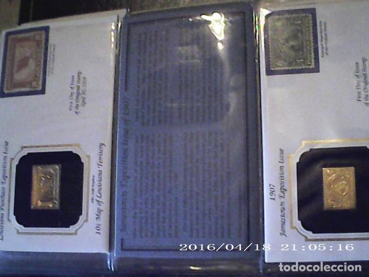 Joyeria: Única en T.Colección 100 SELLOS de oro 22 kilates colección completa de 18847 a 1932 USA - Foto 33 - 221436296