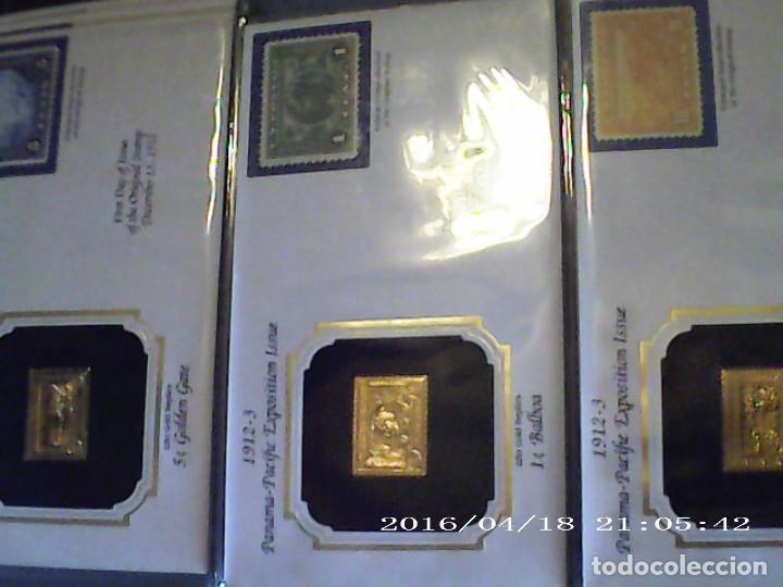 Joyeria: Única en T.Colección 100 SELLOS de oro 22 kilates colección completa de 18847 a 1932 USA - Foto 37 - 221436296