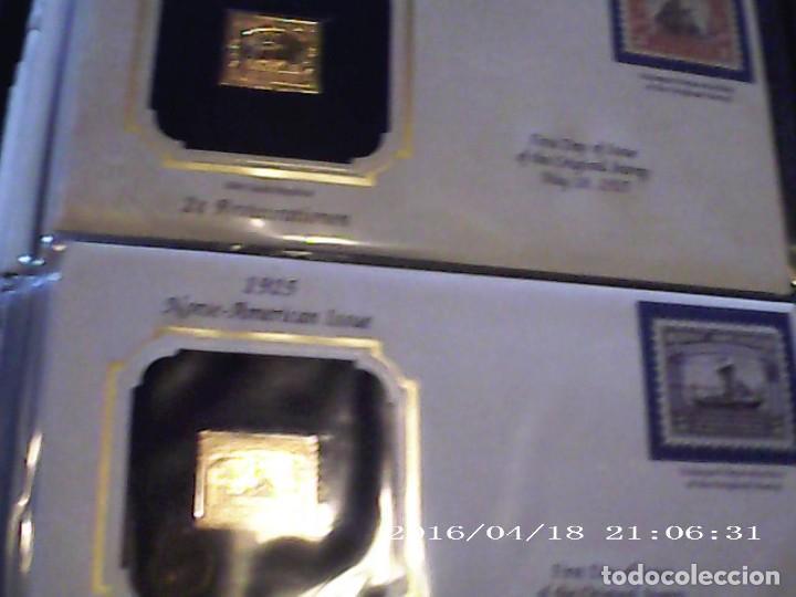 Joyeria: Única en T.Colección 100 SELLOS de oro 22 kilates colección completa de 18847 a 1932 USA - Foto 44 - 221436296